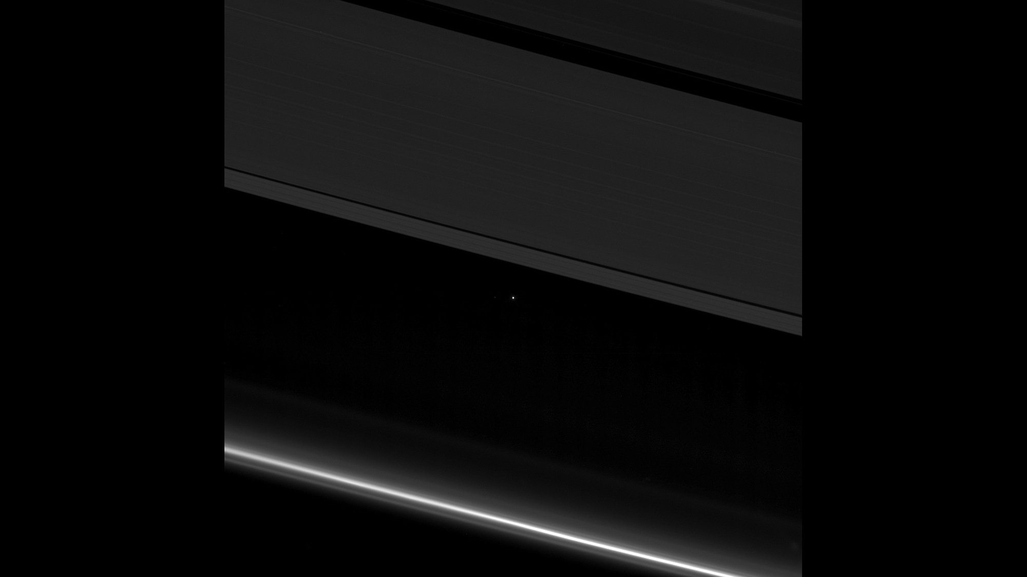 170420194948 Earth Between Rings Of Saturn