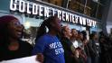 Protests block NBA arena over police ...