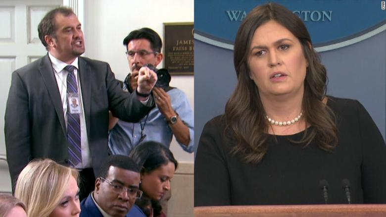 Image result for sarah sanders on family separations at border