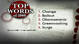 Top words of 2008