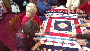 Handmade quilts to give thanks