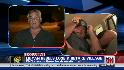 CNN reporter caught in crossfire