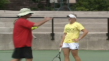 Coach: Oudin 'incredibly tough'