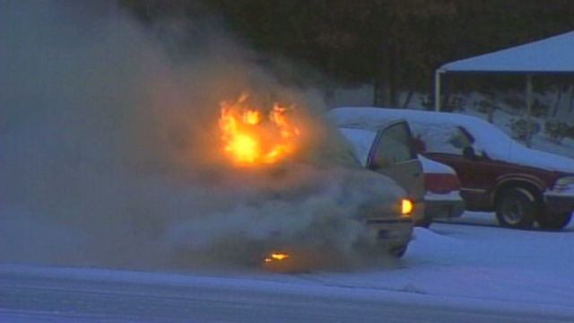 Gotta Watch: Wheels on fire; beauty and danger in snow