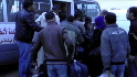 Libyan refugees flee to Tunisia