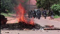 Riots engulf Ugandan city