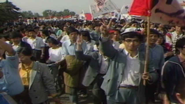 Gotta Watch: Tiananmen Square protests