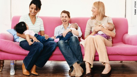 Meeting and socializing with other parents can create a great playdate for your kids.