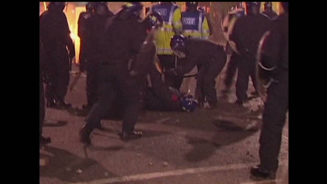 Social media scrutiny after UK riots