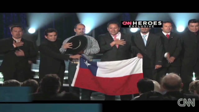2010: Miners honored at CNN Heroes