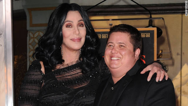 "Chaz Bono thanked his mother, Cher, for defending his decision to join ABC's ""Dancing With the Stars."""