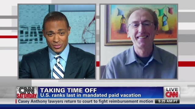 U.S. workers overworked?