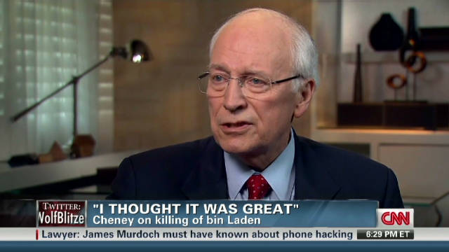 Cheney talks bin Laden raid