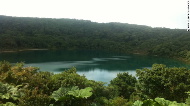 Costa Rica's rough roads make for slow driving, but reaching vistas like the Poas Laguna make it worth the trip.