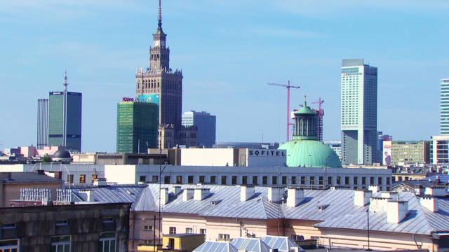 Warsaw's changing skyline