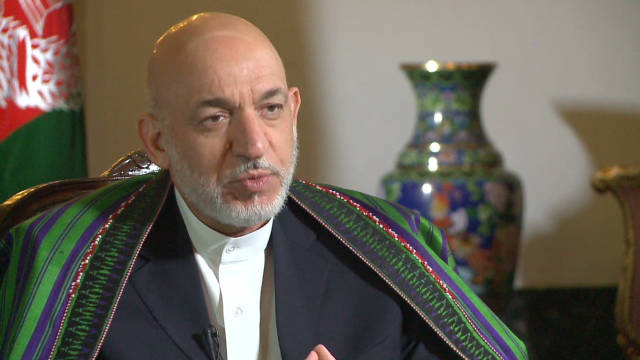 Karzai: 'By 2014 U.S. forces will leave'