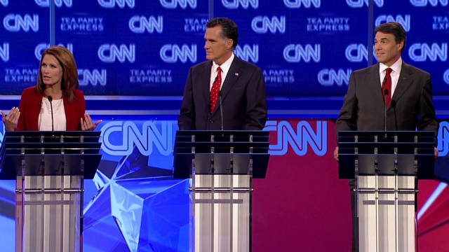 Best of the CNN/Tea Party GOP Debate
