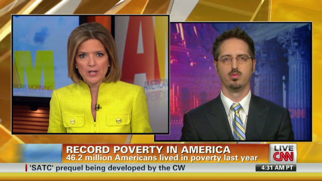 Causes of record poverty in America