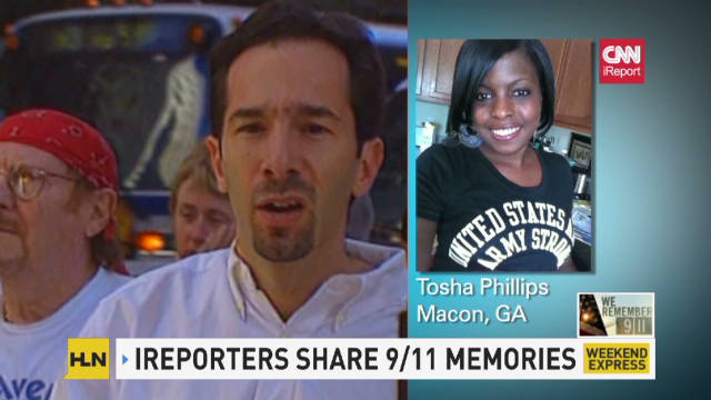 iReporters remember 9/11