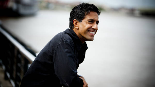Dr. Sanjay Gupta in the spring of 2010.