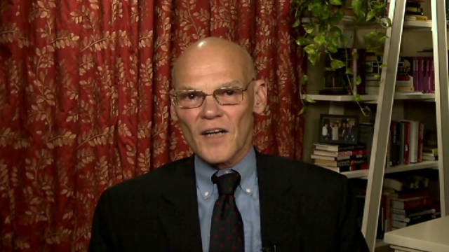 Carville to White House: Panic