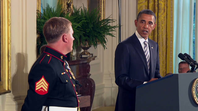Marine recognized with Medal of Honor