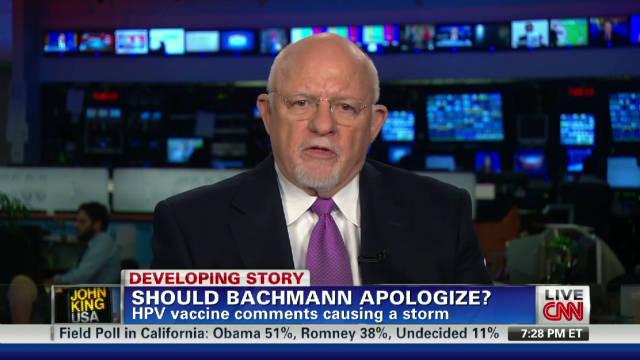 Should Bachmann apologize?