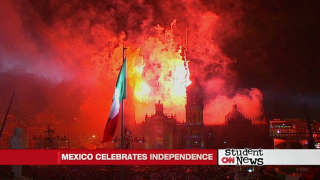 Hispanic Heritage - Mexico celebrates independence