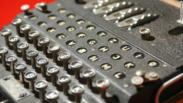 Enigma machines were vital to the Nazi war effort. The Germans believed messages encoded on them were unbreakable.
