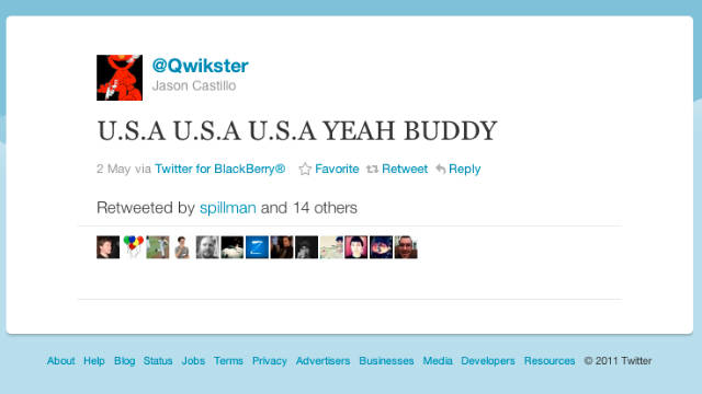 Netflix changed the name of its DVD mailing service to Qwikster, but apparenlty didn't get the name on Twitter.