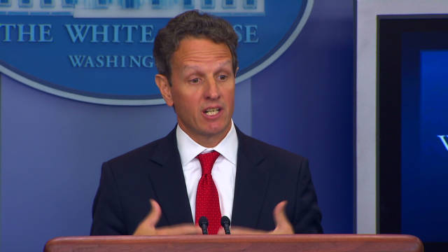 Geithner: Tax idea will help economy