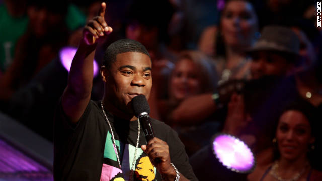 "Tracy Morgan has vivid memories of watching ""The Exorcist"" when he was a  youngster."