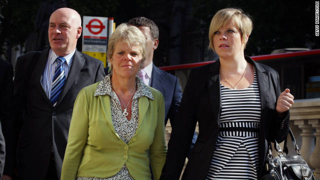 From left, Bob, Sally and Gemma Dowler, the surviving relatives of a phone hacking victim Milly Dowler, are in settlement talks.