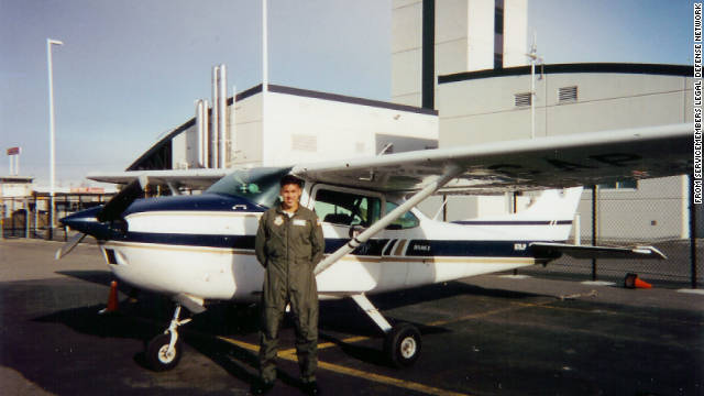 Hall was first in his ROTC pilot's training class and had long aspired to a military career.