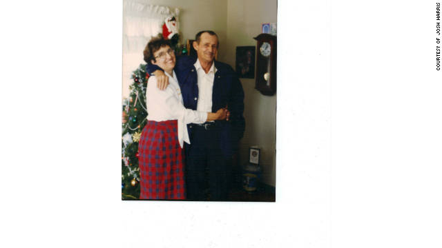 Josh Harris says his grandfather, Raymond, pictured with his wife, Barbara, appeared to him in an apparition.