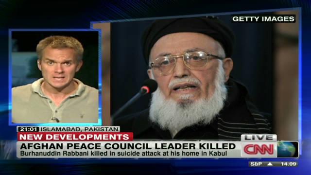 Afghan peace council leader killed