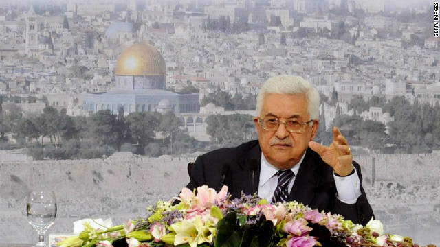 U.S. President Obama will meet with Palestinian President Mahmoud Abbas, pictured, on Wednesday.