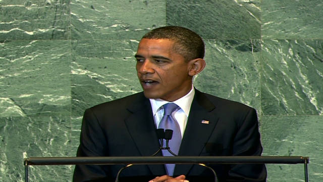 Obama: Palestinians deserve a state