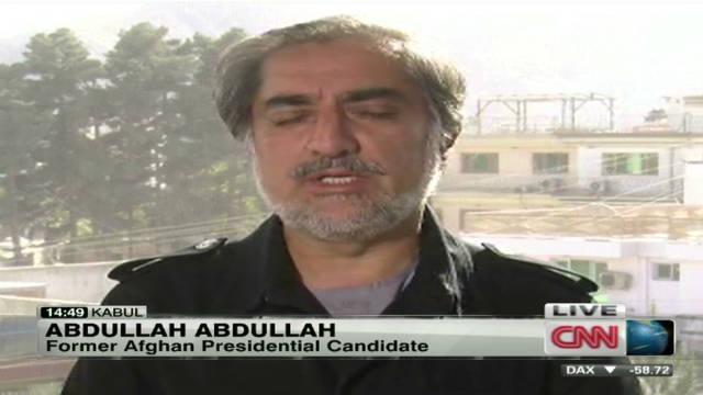 Afghan politician mourns Rabbani