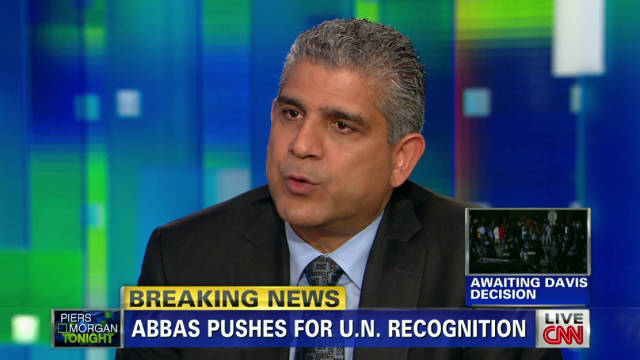 PLO rep wants U.N. recognition, peace