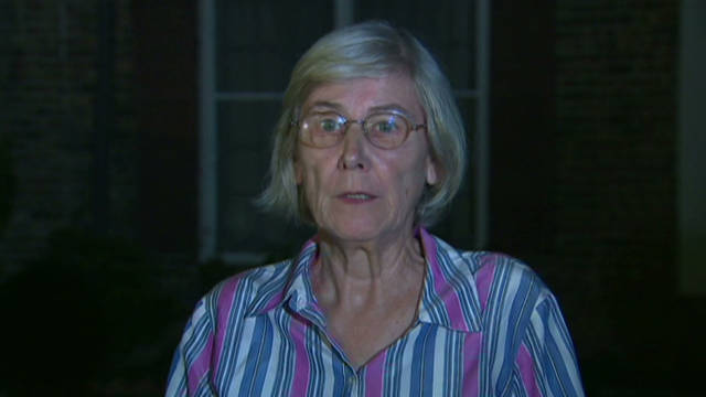 Mother of slain cop reacts to execution