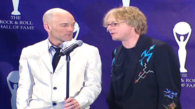 2007: R.E.M.'s 'Hall of Fame' induction