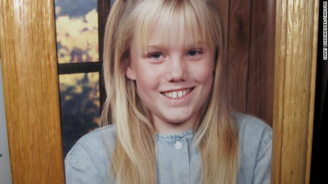 A picture of Jaycee Dugard before she was kidnapped sits framed in her stepfather's home.