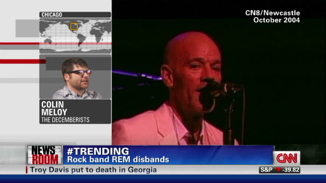 Decemberists leader remembers R.E.M.
