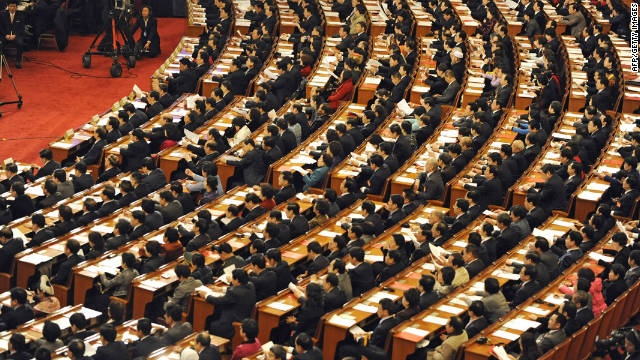 The National People's Congress has approved changes to the country's criminal code, allowing police to hold suspects at secret locations.