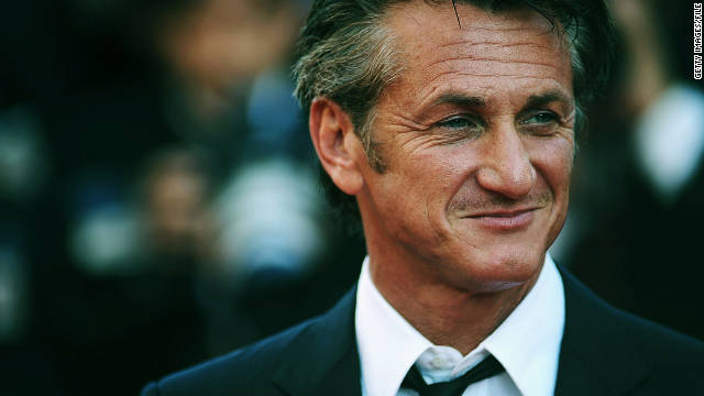 Actor Sean Penn helped...