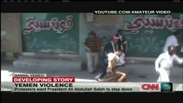 Yemenis rally for leader's ouster