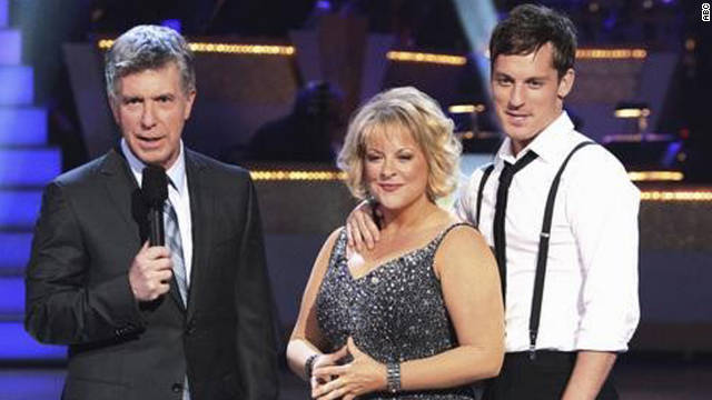 "Nancy Grace says she has lost weight thanks to ""Dancing With the Stars."""