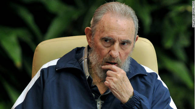 Ex-Cuban leader Fidel Castro many things would change in Cuba, but only thanks to Cubans' own efforts.