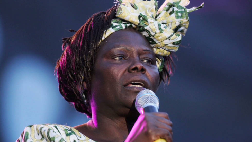 How about Wangari Maathai, a Kenyan politician and environmental activist who was awarded the 2004 Nobel Prize for Peace?